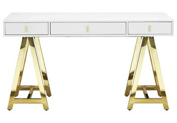 Gold Office Desk And Accessory Ideas: Update Your Workspace