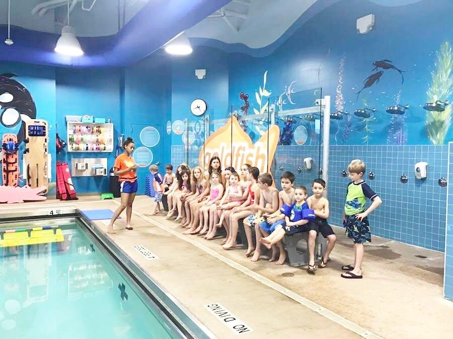 Caleb Had The Best Birthday Pool Party At Goldfish Swim