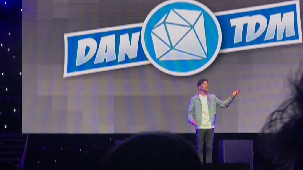 Dan on stage from the Dan TDM On Tour Nationwide!