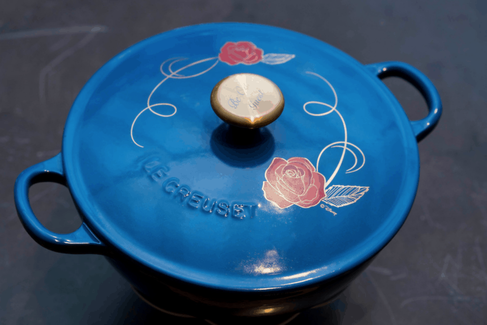 Loving The Le Creuset Beauty And The Beast Soup Pot From