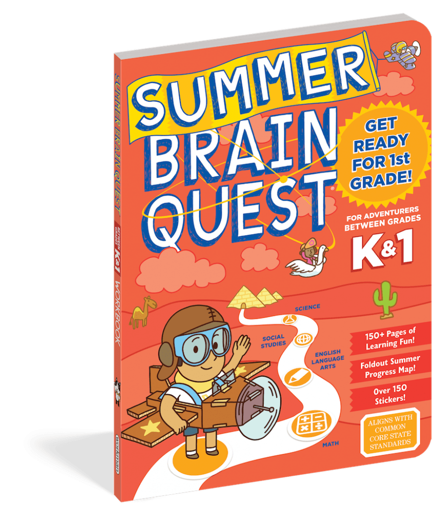 SUMMER BRAIN QUEST offers a one-of-a-kind learning experience that delivers personalized learning for every type of kid.