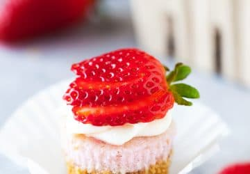 Strawberry Cheesecake Mini Cupcakes Recipe