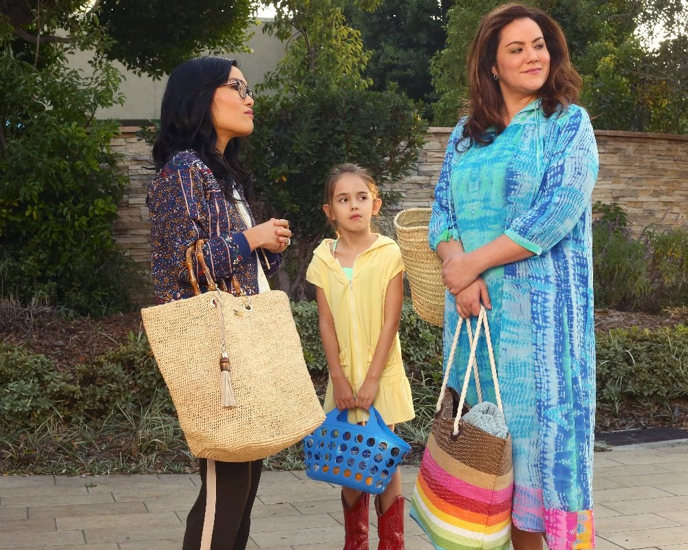 a scene from the ABC comedy American Housewife