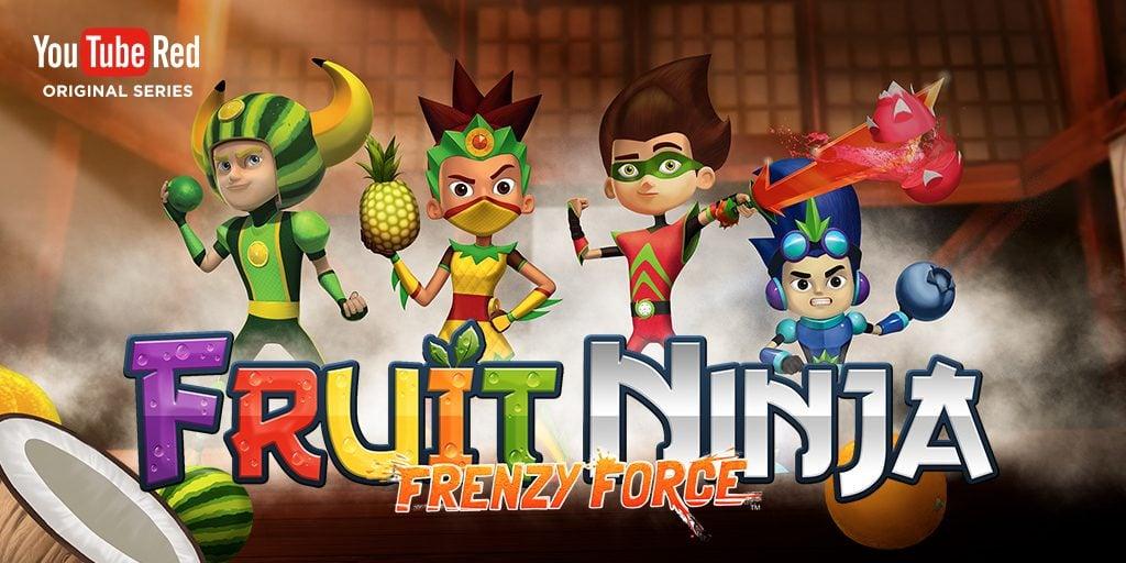 YouTube Red Original Series: Fruit Ninja: Frenzy Force