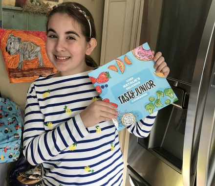 Cooking For Kids: Tasty Junior Cookbook (You Can Personalize It!)