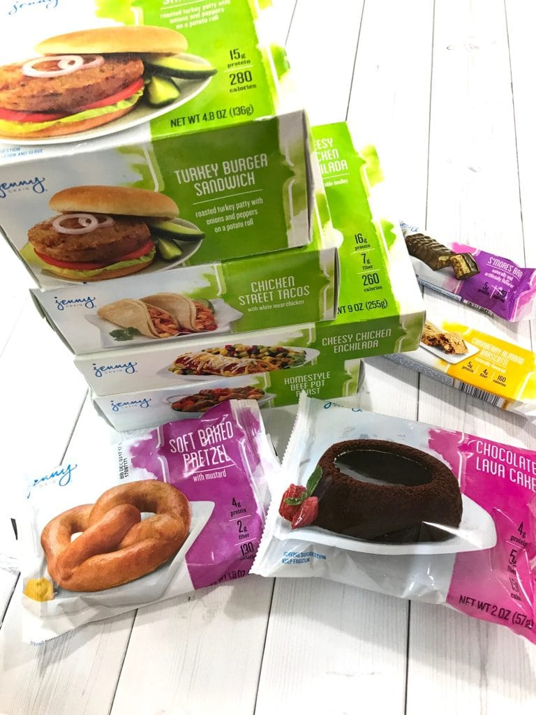 Jenny Craig products examples