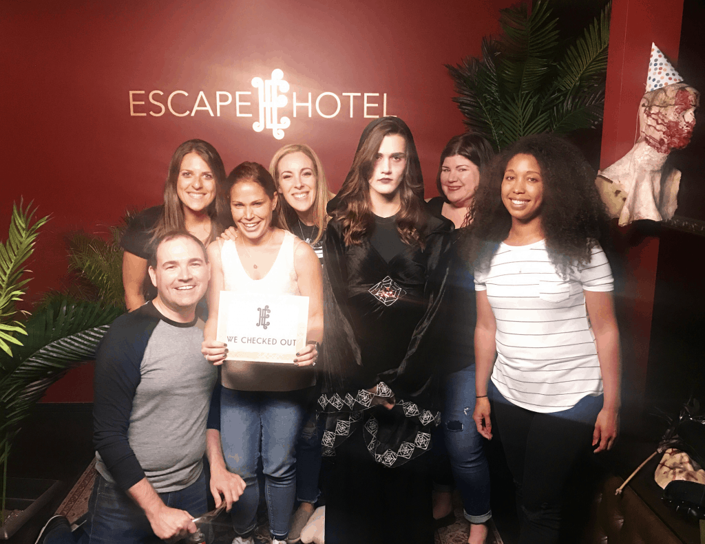 I love playing Escape Games. My tribe is also into Escape Rooms because every single time I send an email out... they are ALL IN.