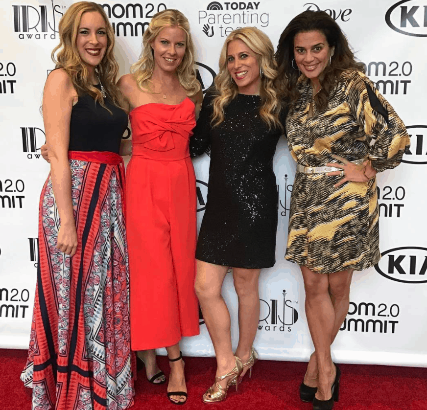 Vera, Audrey and friends, at Mom 2.0 Summit in Orlando 2017