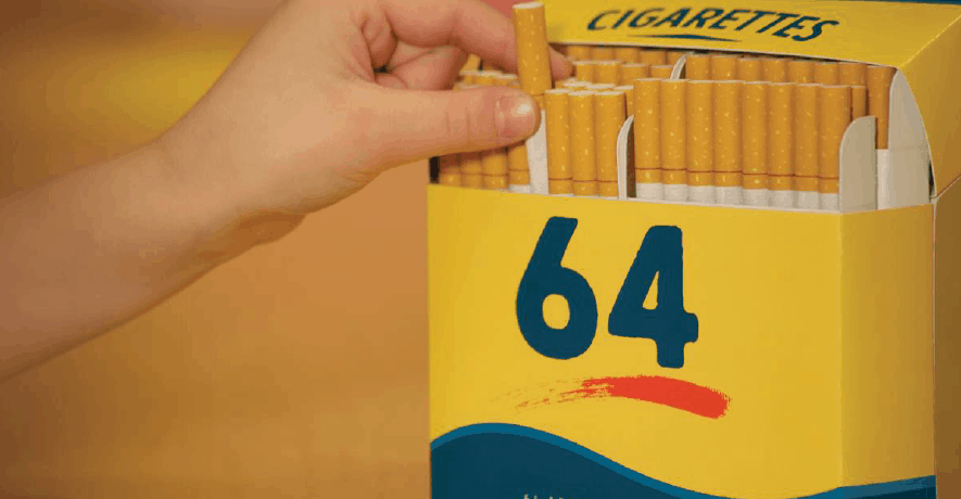 Tobacco Free New York State Crayons