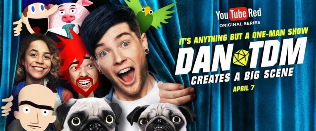 YouTube Red Original Series: DanTDM Creates A Big Scene