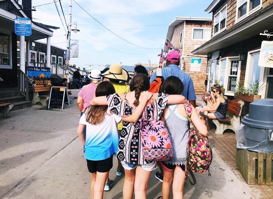 A Day On Fire Island With Friends