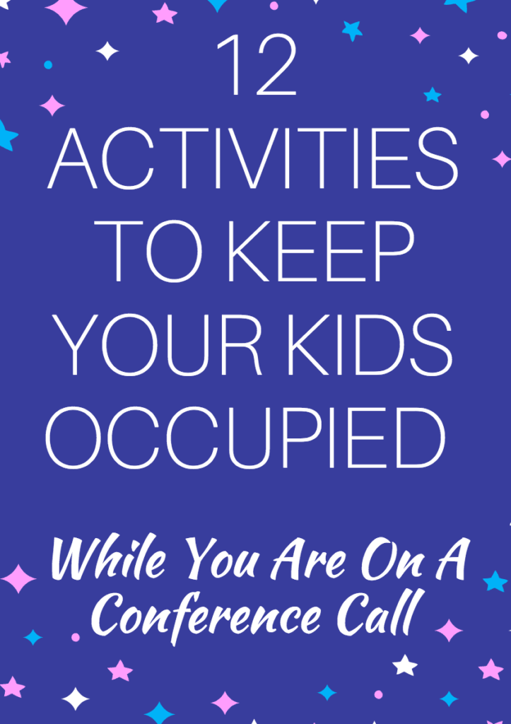 Keep Your Kids Occupied