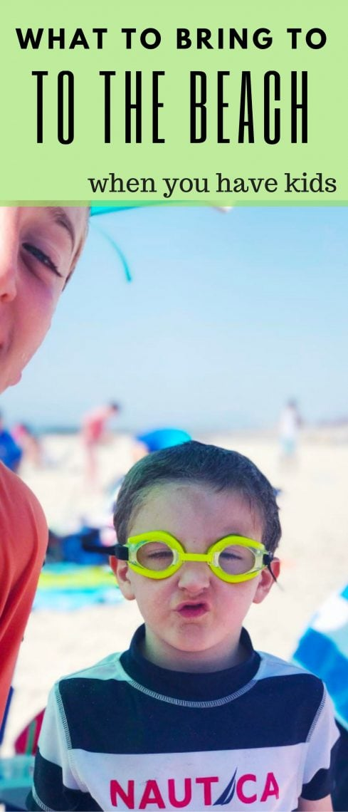8 Things You Need To Bring The Beach For Kids