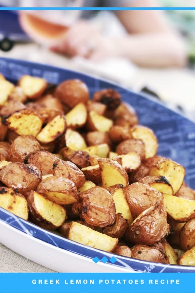 Greek Lemon Potatoes Recipe