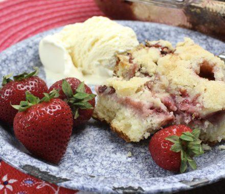 Fresh Strawberry Cobbler Recipe