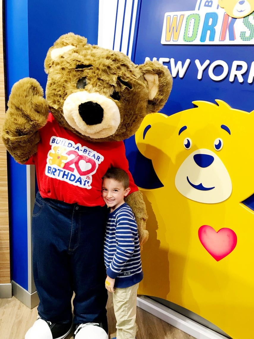 Build The Bear: Build-A-Bear Workshop Opens New Flagship Store In NYC