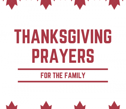 Thanksgiving Prayers For The Family