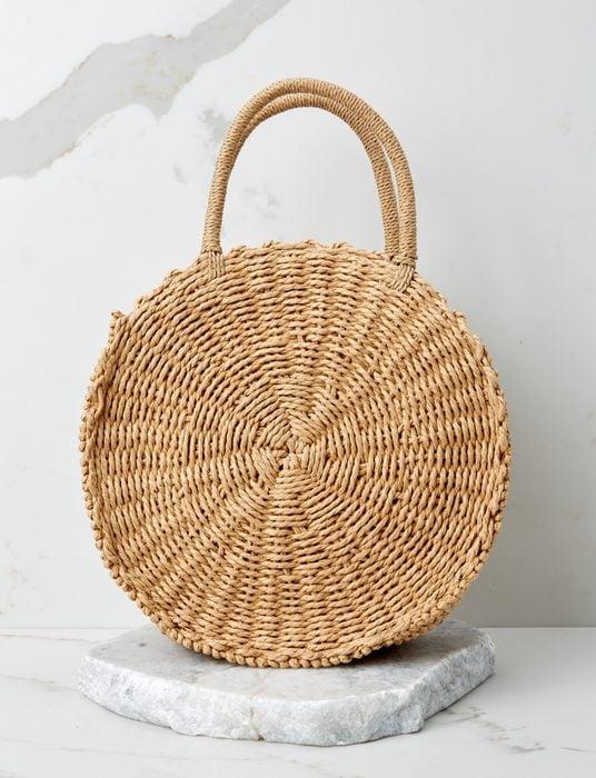 Resort Classic Tan Round Bag