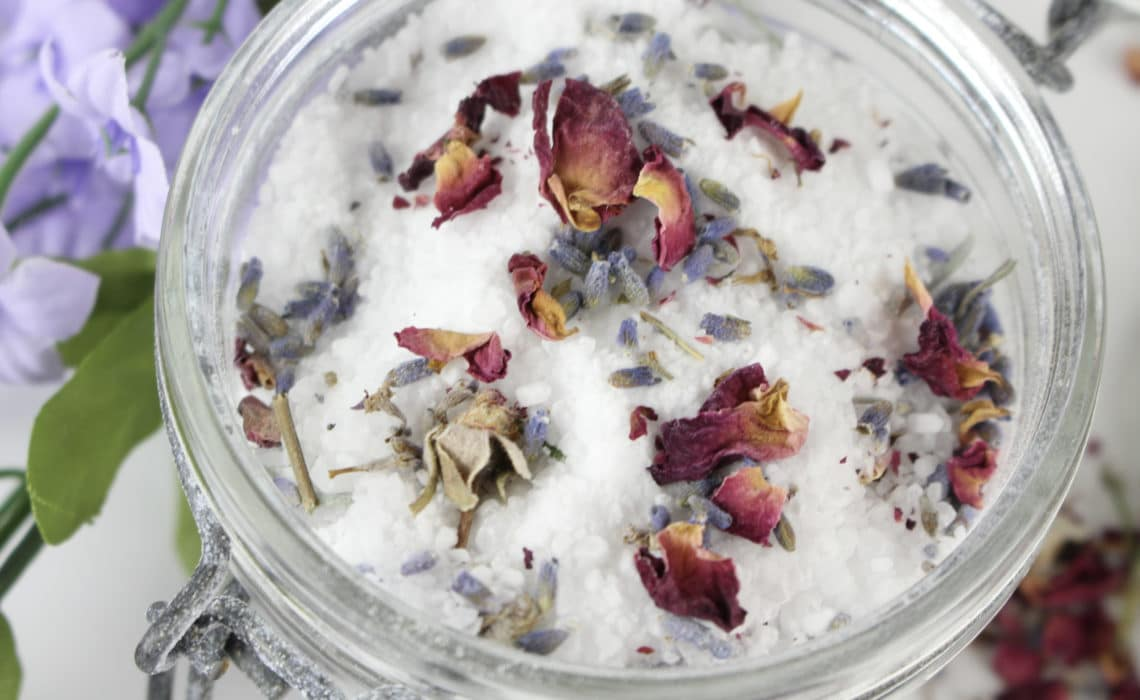 DIY Irish Spring Salts