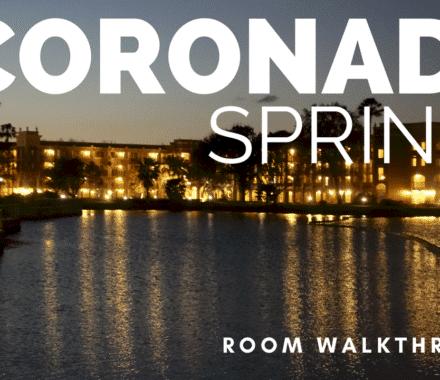 Coronado Springs Room Tour